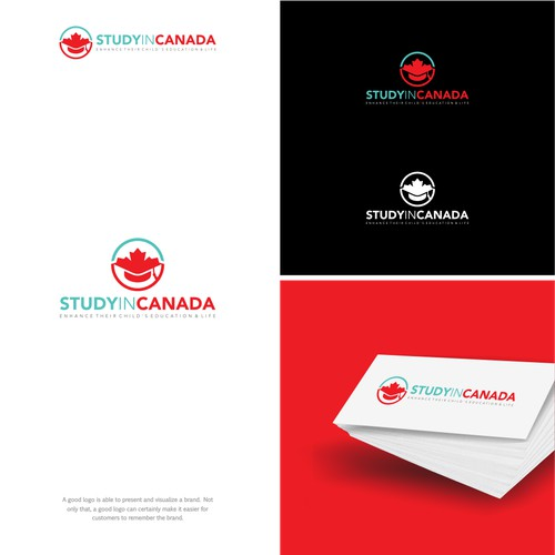 Logo concept for StudyinCanada