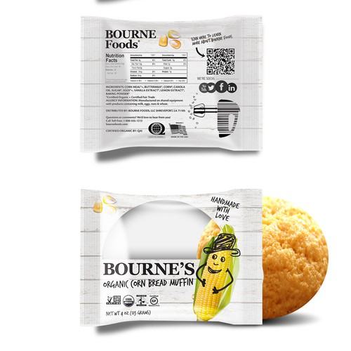 ***(PRIZE GUARANTEED) HELP DESIGN A LOGO FOR OUR CORN BREAD WRAPPER ***