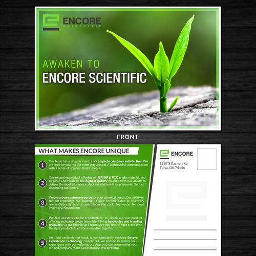 Encore Up! New Chemical Supply
