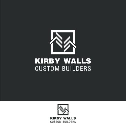 "Bold logo for Custom Builders ""kirbywalls"""
