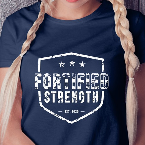 T-shirt design for a Youth Nonprofit Weightlifting Fundraiser