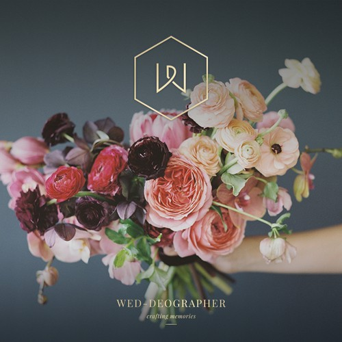 Modern, Luxury monogram for Wedding Photographer / Videographer