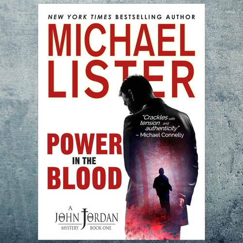 Rebranding of gritty crime series by Michael Lister