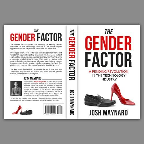 Inspiring Book Cover for The Gender Factor