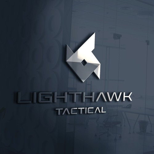 Acronim logo concept for Lighthawk Tactical