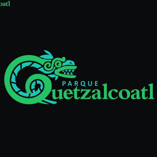 Park Quetzalcoatl logo design