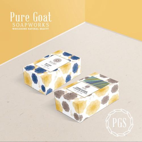 Pure Goat Soapworks Soap Box Design