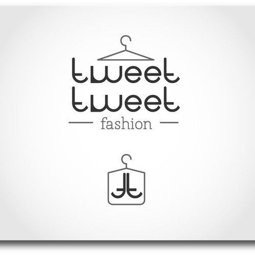 Stylish, chic yet fun & playful Logo for online fashion store. Not for the meek!