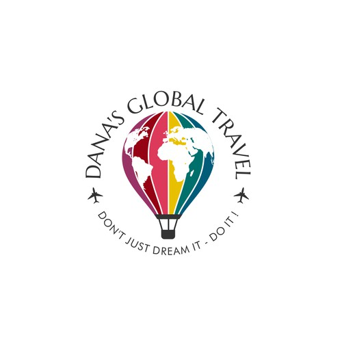 Create a worldy logo for a Travel Guru!