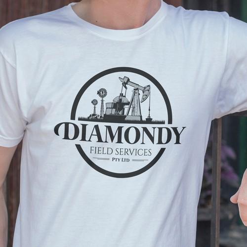 Diamondy Field Services Logo Design
