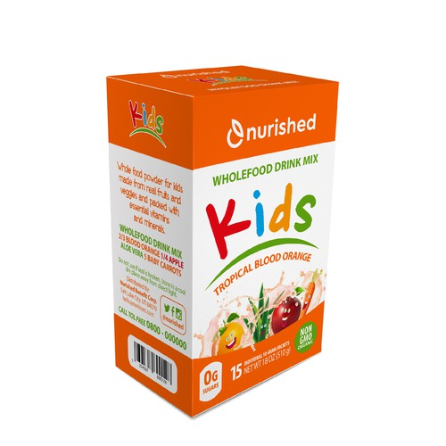 Packaging Kids drink