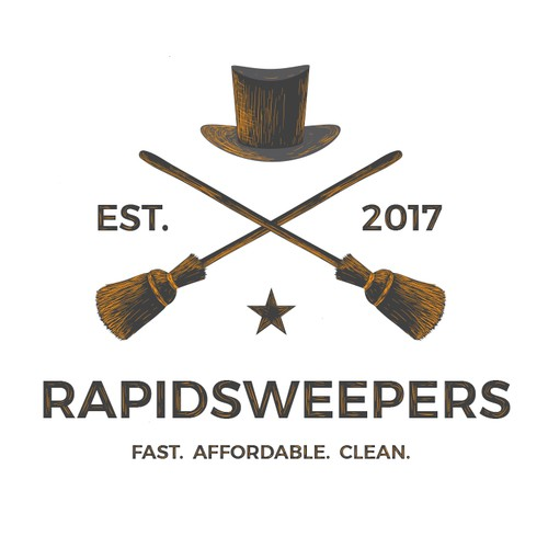 Need a creative, simple yet bold logo design for Rapidsweepers