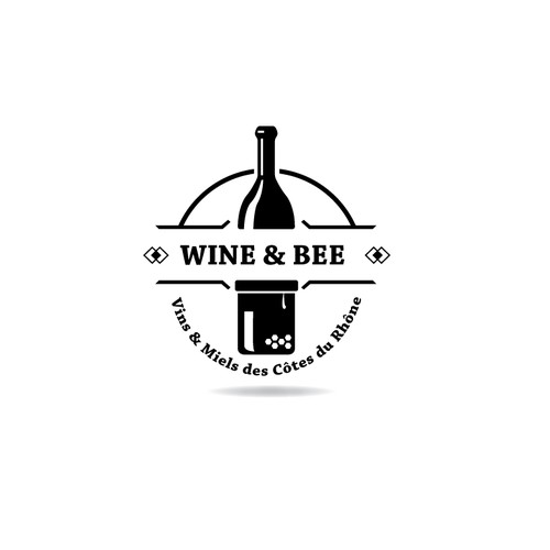 Wine & Bee logo