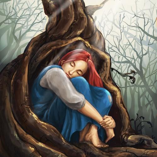 Girl in the Tree