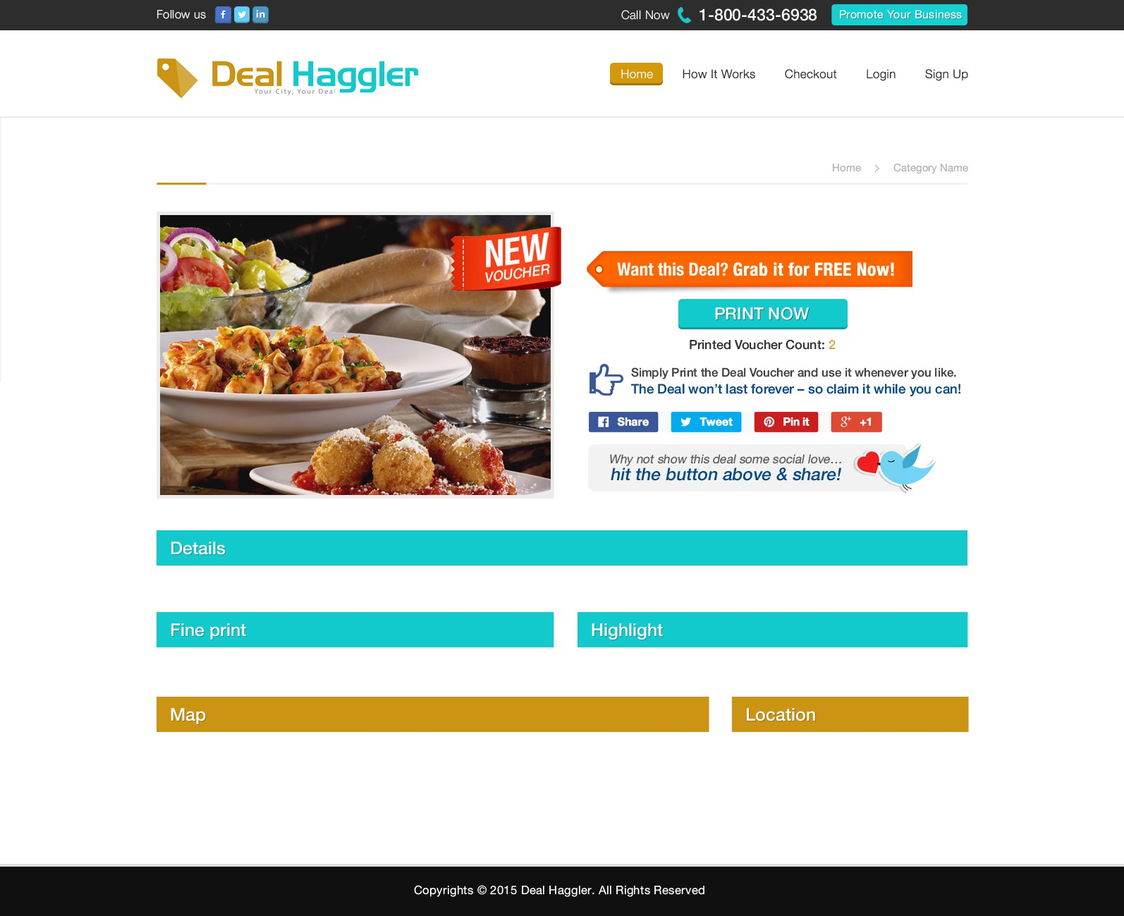 Re-Design of Product Page