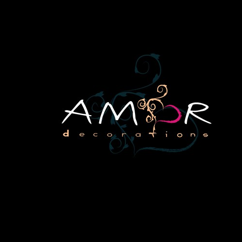 Create the next logo for amor decorations