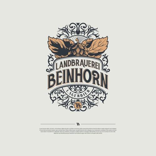 Beer Logo for Landbrauerei Beinhorn
