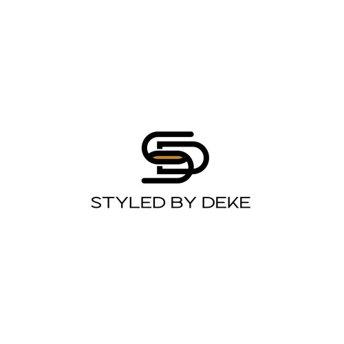 Logo design and identity design for Styled by Deke