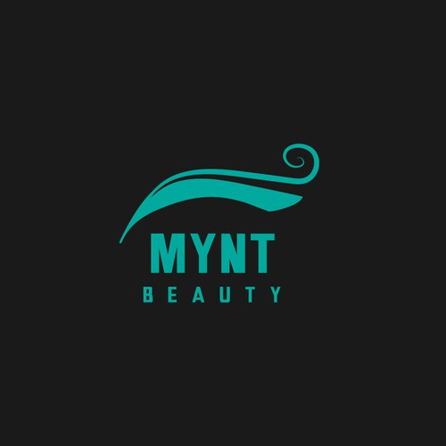 Elegant logo design for a beauty salon