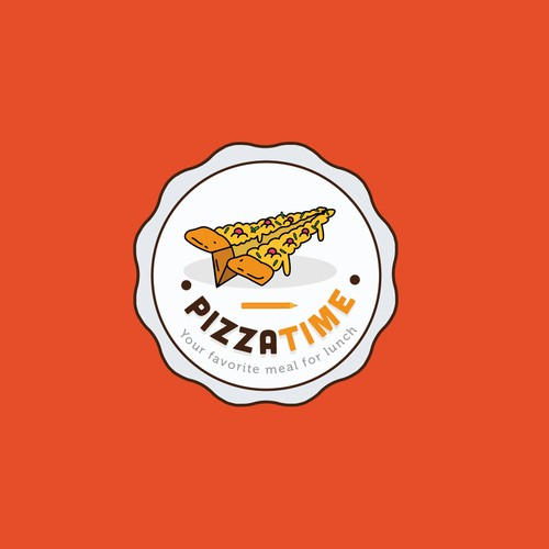 logo for Pizza Time
