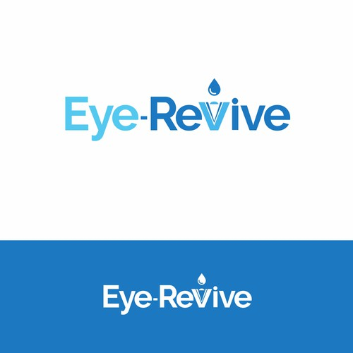 Eye Revive logo design.