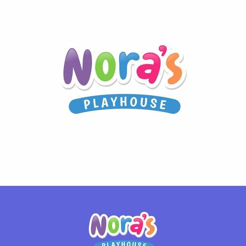 Logo winner for Nora's Playhouse