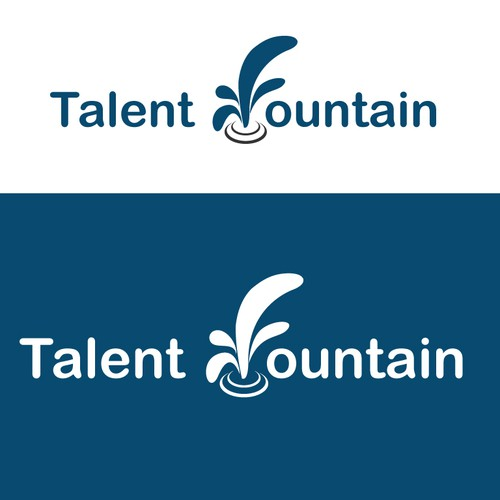 Talent Fountain - We need a logo and business card