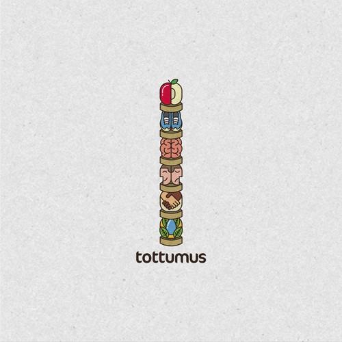 Tottumus unique logo design
