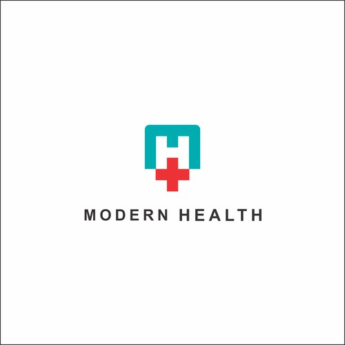 logo for modern health