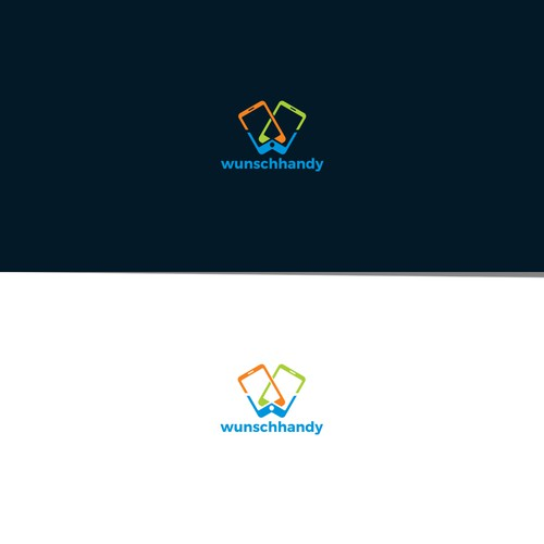 Modern logo for wunschhandy