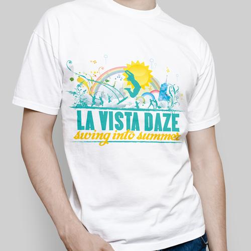 Create the identity of the summer events for the City of La Vista, Nebraska