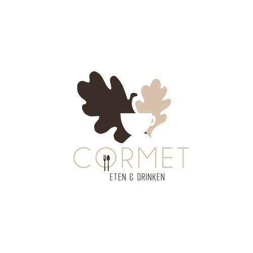 CORMET caffe logo