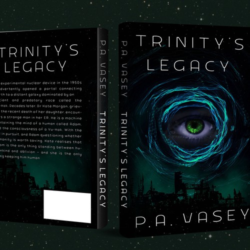 Scifi Dystopian Book Cover