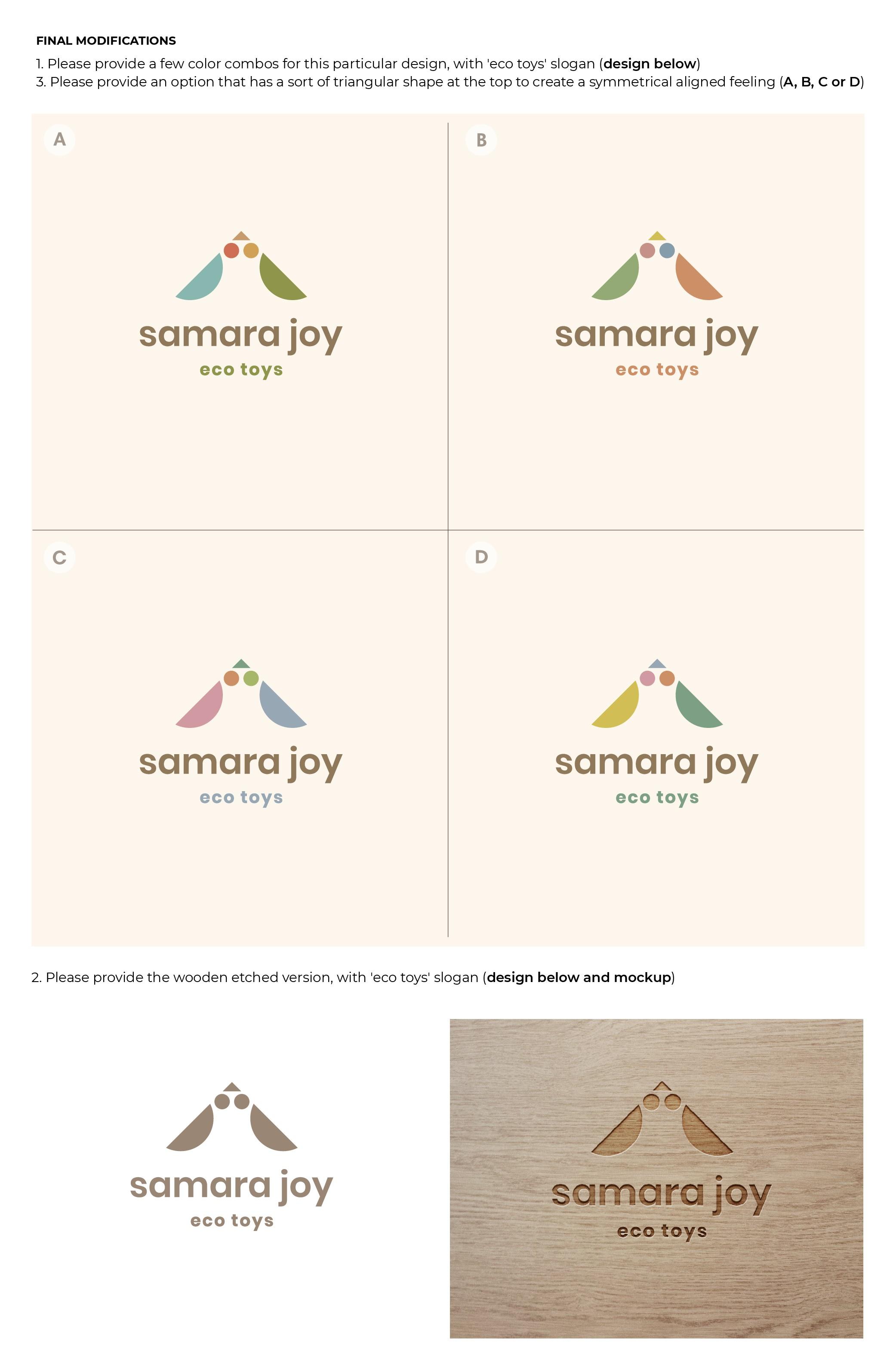 Logo & Brand Identity - Eco-Friendly Wooden Toys Brand