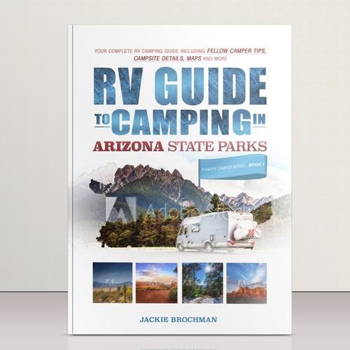 RV Guide book cover design