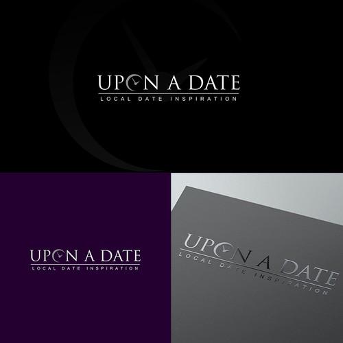 Elegant logo for dating site