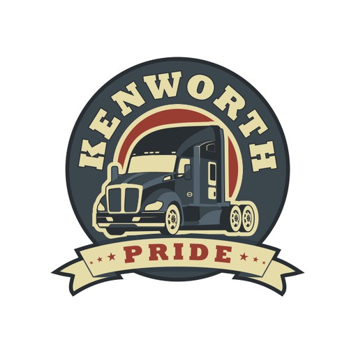 logo for Kenworth Pride
