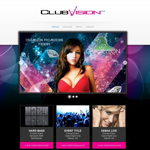 New Website | Next MTV of Live Music