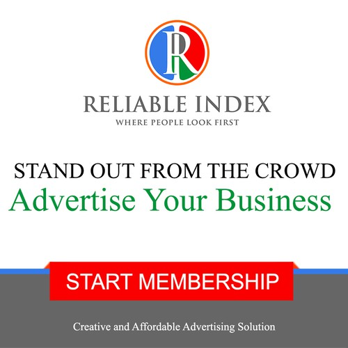 Advertising Banner Version 1