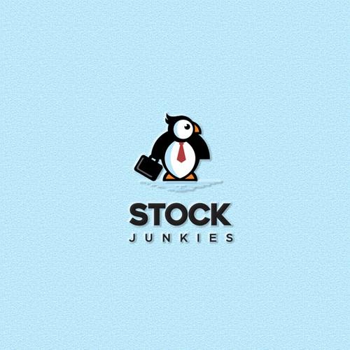 Logo for - stock market trading media newsletter