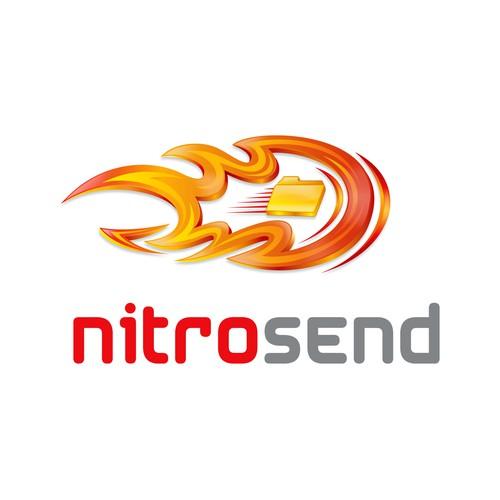Logo for Nitro Send