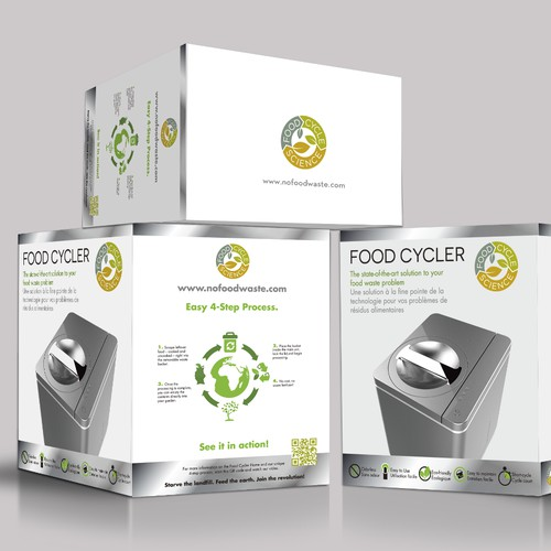 Indoor Composter Package Design