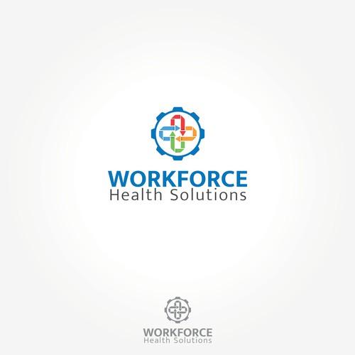 Logo pour un entreprise de solution de santé