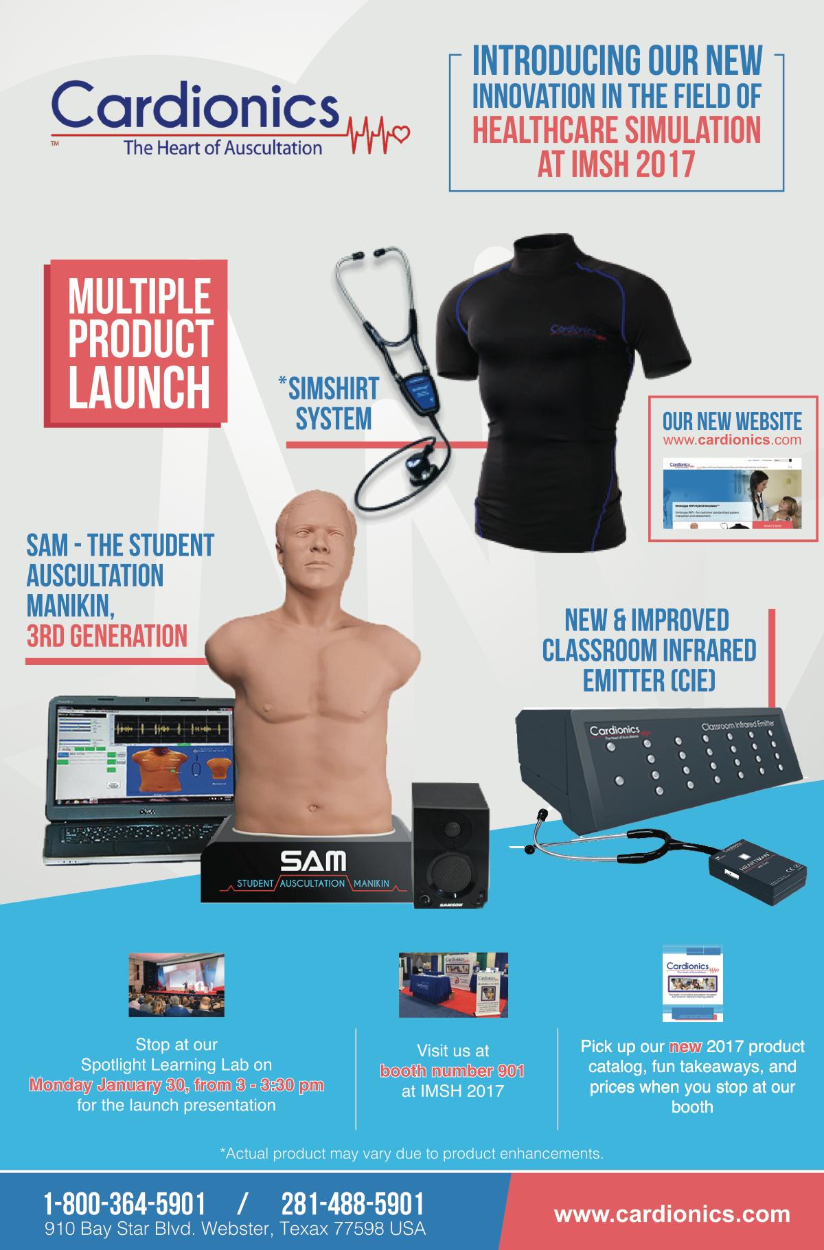 Design multiple ads for Cardionics