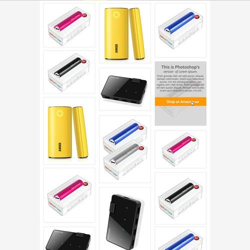 Clean Visual E-commerce Design