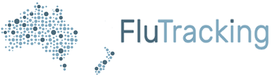 Modification of previous Flutracking Logo to include New Zealand