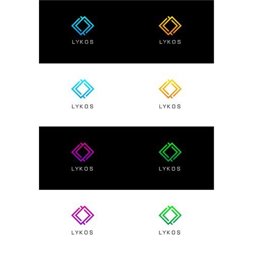 Logo for LYKOS, audio entertainment