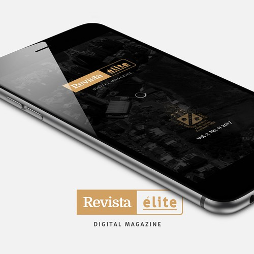Digital magazine for a modern Country Club