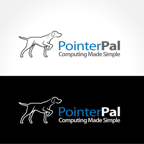 software product logo - using a cute dog