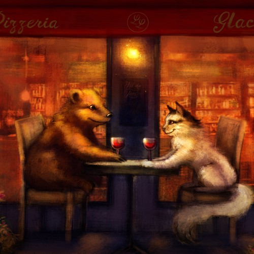 Guaranteed - Illustration for romantic anniversary gift!